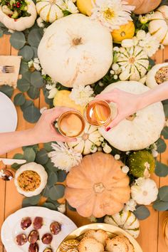 Are you going to decorate your table for Thanksgiving?