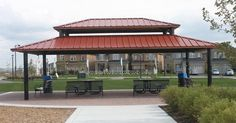 ABC Recreation can custom design, build and install shade structures, such as gazebos, and pavilions to complement your recreation park surroundings. Shade Structure, Shelters, Pavilion, Harvest, Gazebo, Custom Design, Shades, Building, Outdoor Decor
