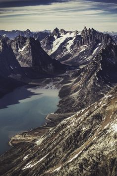 Greenland's rugged East Coast