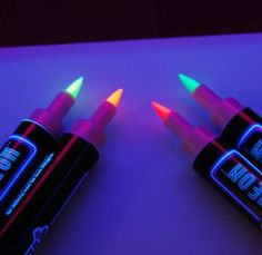 Teen Glow In The Dark Party- Glowing Fabric Markers