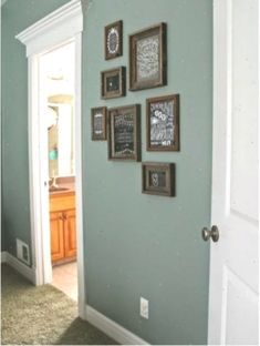 Dark hallway paint ideas gallery of the best not boring paint best paint color for dark . paint colors for dark hallways Hallway Colours, Bedroom Paint Colors, Hallway Paint Colors, Hallway Paint, Modern Country, Valspar Paint Colors, Paint Colors, Modern Country Style, Small Hallways