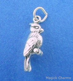 SEAGULL OISEAU Sea Gull Flying 925 Sterling Silver Charm pendentif made in USA