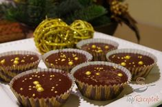 Karácsonyi csokoládés falatkák | TopReceptek.hu Hungarian Recipes, Christmas Cooking, Thing 1, Mini Cupcakes, Muffin, Food And Drink, Cookies, Nutella, Baking