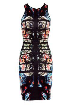 Clover Canyon Aquarium Puzzle Dress