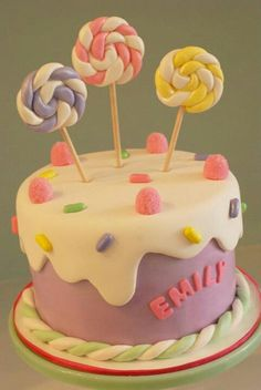 cool little girls cake