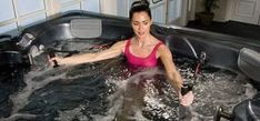 5 Little Known Ways Water Exercise Can Help You Get (and stay) Fit ThermoSpas Hot Tubs Pool Workout, Aerobics Workout, Jacuzzi, Corner Soaking Tub, Hot Tub Deck, Hot Tub Cover, Water Aerobics, Spa Tub, Low Impact Workout