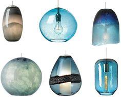 http://www.delolovesdesign.com/delo-daily/brilliant-blue-pendant-lights