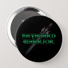 Shop Keyboard Warrior MMORPG Button created by BlueRose_Design. Keyboard Warrior, Pvp, Dog Bowtie, Custom Buttons, Mixer, Papillon Dog, Stand Mixer