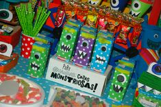 Candy bar de Monstruos