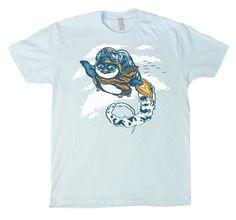 Flying Penguin T-Shirt