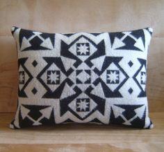 Pillow  Pendleton Wool Fabric  Native Geometric by RobinCottage, $48.00