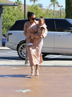 Kim & North at the movie theater in Calabasas - July 12, 2015