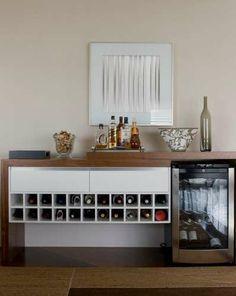 Veja projetos de bar residencial para espaços pequenos - Terra Brasil