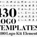 430 Vector Logo Design Templates & 200 Logo Kit Elements - only $17! Vector Logo Design, Logo Design Template, Web Design, Designers, Kit, Logos, Design Web, Logo, Website Designs