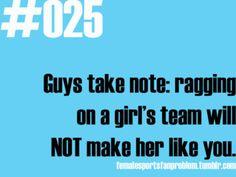 Female Sports Fan Problems