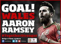 Wales Goal Tweet idea: Aaron Ramsey