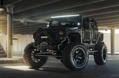 Paying homage to Stanley Kubrick's seminal 1987 war film Full Metal Jacket, Texas-based car customizer Starwood Motors have revealed their latest version of the iconic Jeep Wrangler. On a full-scale Mad Max tip, the blacked-out ride boasts a 3.6-liter V6 engine, producing 285 horsepower which can jump from 0 – 60 in 8.4 seconds. Ok, so it's not that fast, but who cares? You're still going to be the baddest man on the road, a man who's always ready for armageddon. Additional details include…