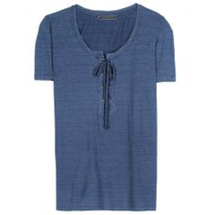 Phina T-Shirt With Lace-Up Detail * Velvet ♦ mytheresa
