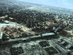 City of Ruins. Destroyed Warsaw-Poland In 1945. Film created and directed by Damian Nenow. The world's first digital stereoscopic reconstruction of a city destroyed during World War II. The film portraying the sheer scale of destruction intentionally wrought upon the capital following the 1944 Warsaw Uprising. http://www.pointblankproductions.com/other/city-of-ruins-created-and-directed-by-damian-nenow/2803/