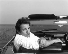 I've always loved this portrait of Bruce Springsteen by Annie Leibovitz.
