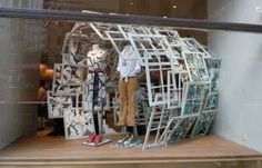 """I Spy...with a visual merchandising eye!: """"Interpretations in Wood"""" at Anthropologie"""