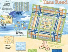 Play in the Sand Quilt Pattern (free)