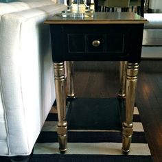 Of course you can spray paint furniture - and add a glam new look to old fashioned pieces