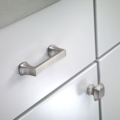 76mm brushed satin nickel cabinet pull