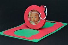 Christmas Ornament Pop Up Card   Creative Pop Up Cards