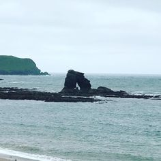 Thurlestone was a little grey this morning and then the sun came out #travelblogger #devon #welshparentbloggers