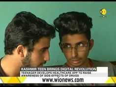 (21) Kashmiri teen brings digital revolution - YouTube