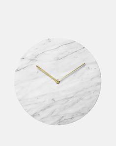 Menu Marble Clock in