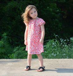 Free Girls Dress Pattern - easy summer dress pattern