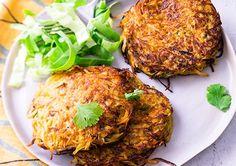 Cooking Chef, Tandoori Chicken, Salmon Burgers, Side Dishes, Vegetarian Recipes, Veggies, Healthy, Ethnic Recipes, Gluten