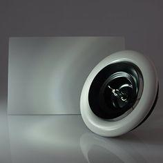 Design Tellerventil Rechteck 125 | Frontplatte rechteckig | Anschluss 125 mm | Extra flach | Wandaufbau nur 5-25 mm | Niedriger Schallpegel, http://www.amazon.de/dp/B011RPD7I8/ref=cm_sw_r_pi_awdl_aTlnxb1EQPGSM