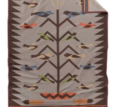 Navajo Inspired TREE OF LIFE BLANKET from Pendleton.