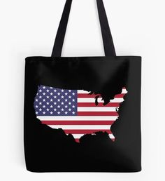 """""""US flag"""" Tote Bag by nocnoc78 