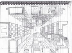 One Point Perspective--Lesson/video