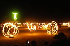 Burning Man Festival, Black Rock Desert, Nevada, USA at the end of August.