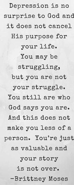 Bible verses for battling depression