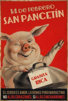 Biscayenne: San Pancetín 2014: pastel de morcilla y galletas de chicharrones