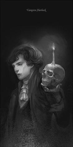 LYCAN RULES_vampire sherlock by godforget on DeviantArt