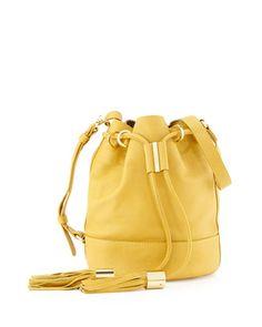 Vicki+Small+Bucket+Bag,+Bamboo+at+CUSP.