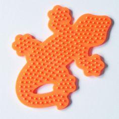 Gecko Perler Bead Pegboard, Ironing Paper, Instructions, Craft Supply, Church, VBS Crafts, Destash on Etsy, $2.00