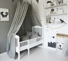 Baby Bedroom, Nursery Room, Kids Bedroom, Nursery Decor, Bedroom Themes, Bedroom Decor, Blue Ceilings, Kids Decor, Home Decor