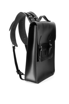Christopher Shannon x Cambridge Satchel Company backpack Backpack Purse, Leather Backpack, Leather Bag, Black Leather, Leather Jewelry, Leather Craft, Men Accesories, Christopher Shannon, Leather Design