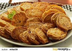 """Rohlíkové """"chipsy"""" recept - TopRecepty.cz"""