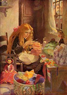 The Little Dolls' Dressmaker by Jenny Wren