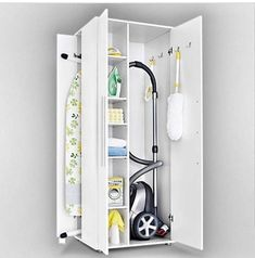 Univerzální skříň – Home Trends 2020 Tool Storage, Locker Storage, Laundry Room Cabinets, House Of Turquoise, Bathroom Organization, Bathroom Medicine Cabinet, Small Bathroom, Shelving, Ikea