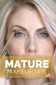 Mature Makeup Tips just for you. No matter the age- if your skin is changing, there are tips for you in this video. Mature Makeup Tips just for you. No matter the age- if your skin is changing, there are tips for you in this video. Makeup For 50 Year Old, Makeup Over 50, Old Makeup, Hooded Eye Makeup, Blue Eye Makeup, Skin Makeup, Hooded Eyes, Mature Makeup Tips, Makeup Tips For Older Women